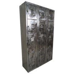 Vintage Modern Industrial Storage Locker