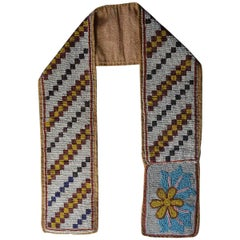 Fine American Indian Ojibwe Beaded Belt