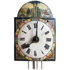 18th Century European Wall Clock