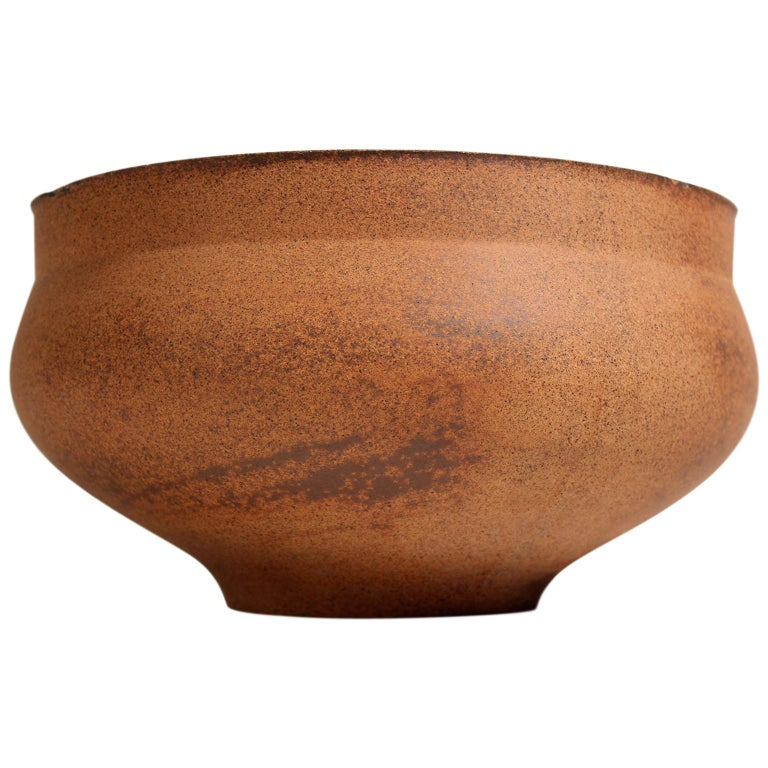 David Cressey Pro Artisan Architectural Pottery Planter Vessel Pot For Sale