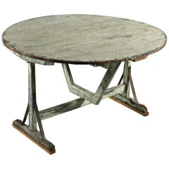 Late 18th Century Painted Wine Table