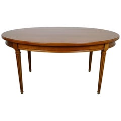 French Cherrywood Coffee Table from the 1970s