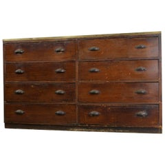 Early 20th Century Dutch Tailors Drawers, circa 1900