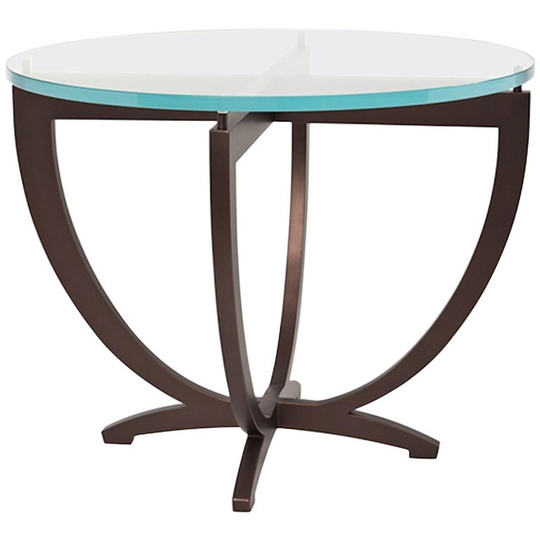Stromboli Gl Or Stone Top Side Table By Powell Bonnell For