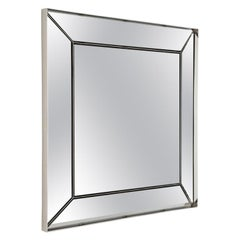 Ricochet Mirror in Polished Nickel by Powell & Bonnell