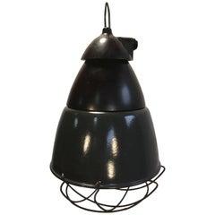 Vintage German Barn Lamp, 1950s