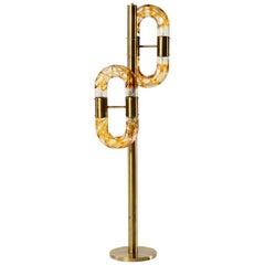 Mid-Century Modern Floor Lamp by Aldo Nason for Mazzega