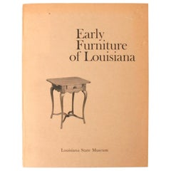 """""""Early Furniture of Louisiana"""" Exhibition Catalogue from Louisiana State Museum"""