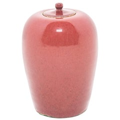 19th Century Chinese Peach Blossom Ginger Jar