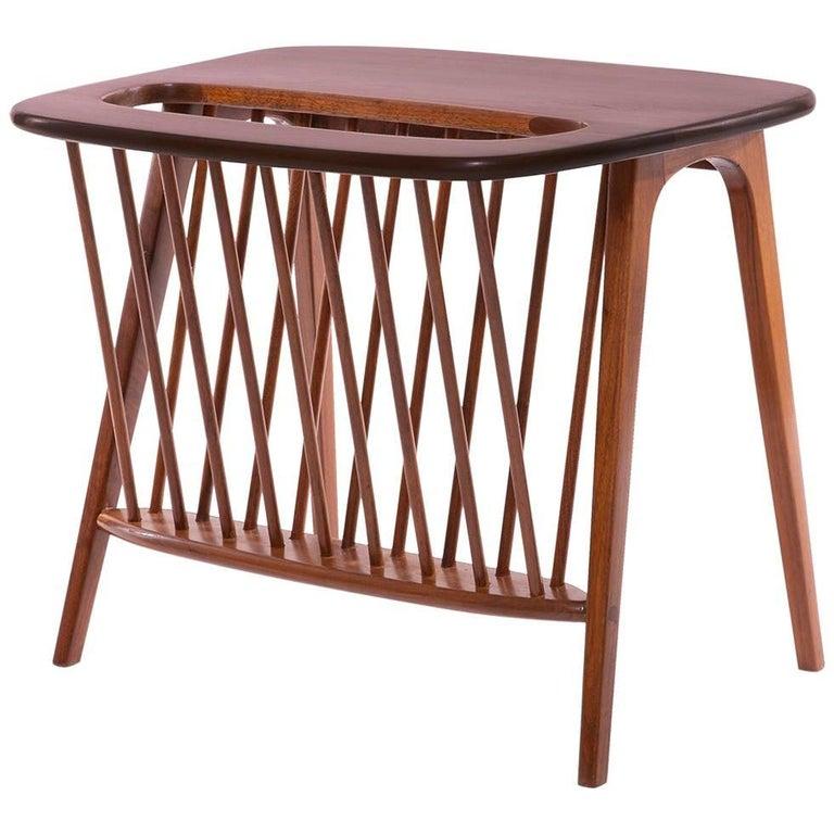 Arthur Umanoff Magazine Holder or Side Table