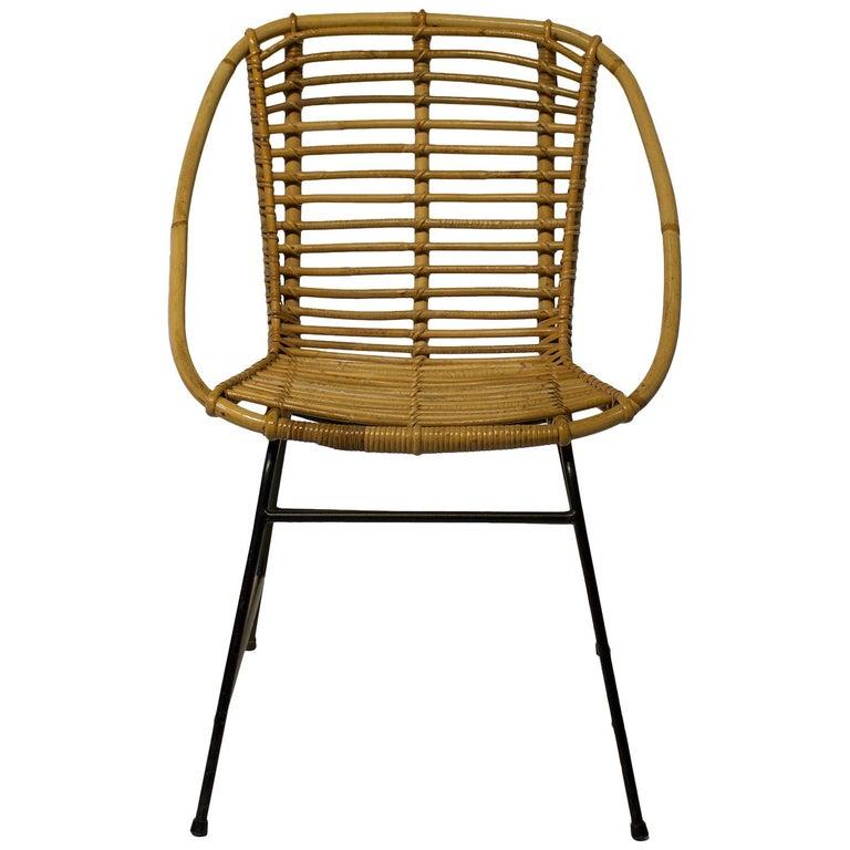 Swedish Woven Club Chair