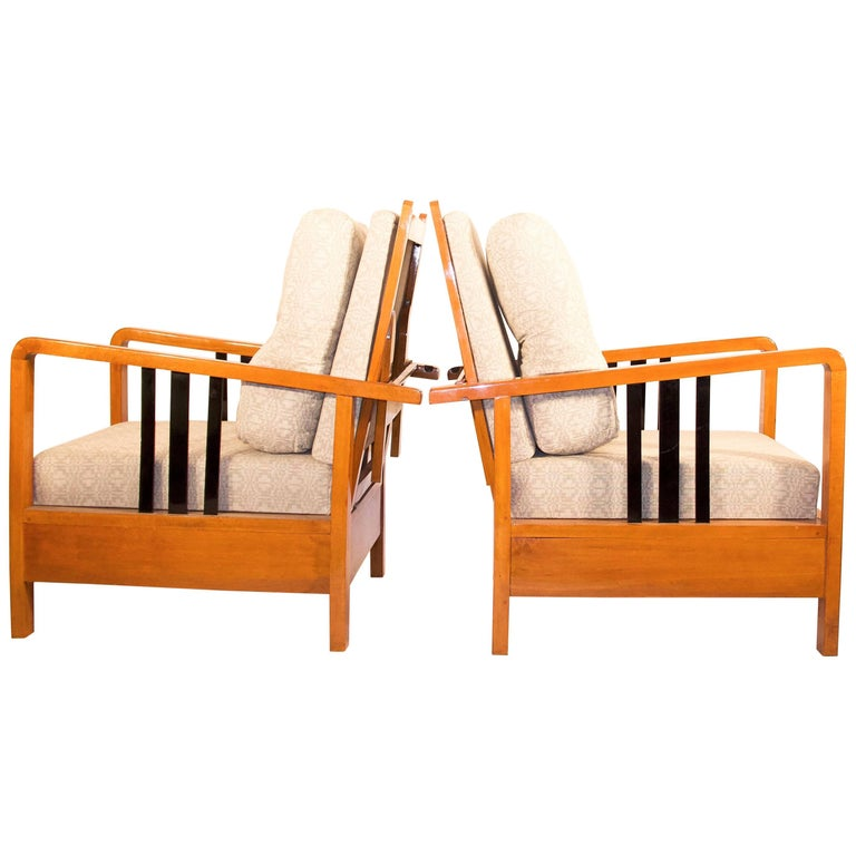 Rare, Kozma Lajos Art Deco Lounge Chair from the 1930s For Sale