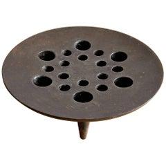 Mid-Century Modern Cast Iron Candleholder by Jens Quistgaard, Denmark