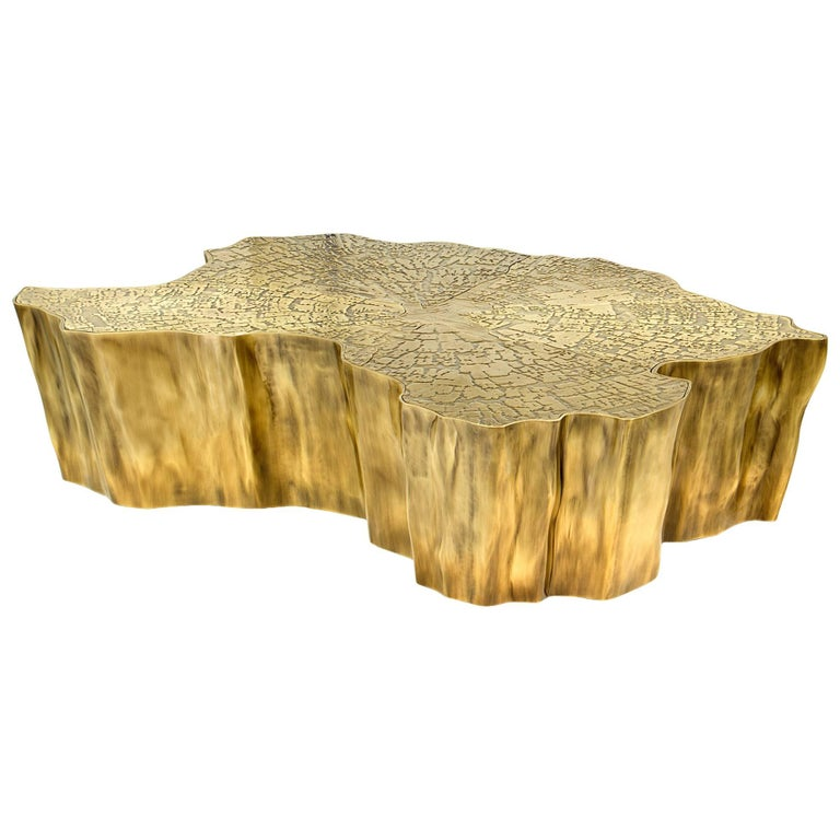 Gold Plated Coffee Table: Heaven Coffee Table Gold-Plated For Sale At 1stdibs