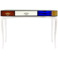 Multi Finishes Console Table