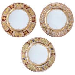 Set of Three Dresden Plates