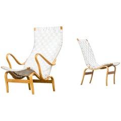 1970s Bruno Mathsson 'Pernilla' Chairs for DUX