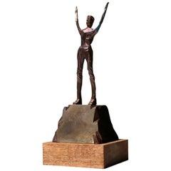 1970s by Mario Rossello Figure Sculpture