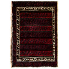 Early 20th Century Antique Baluch Rug