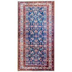 Early 20th Century Herati Hamadan Rug