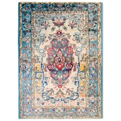 Fantastic Early 20th Century Antique Tabriz Rug