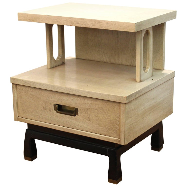American Of Martinsville Mid Century Modern Side Or End Table With Drawer