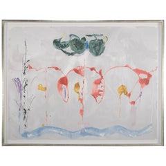 "Helen Frankenthaler Screenprint Titled ""Aerie"""