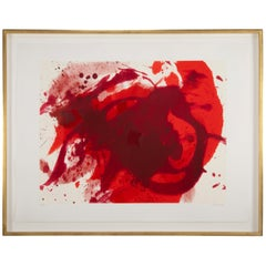 """Passionate Winner"" by Kazuo Shiraga, Japanese, 1924-2008"