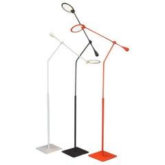 Light and Contrast, Trapeze LED Floor Lamp, Orange