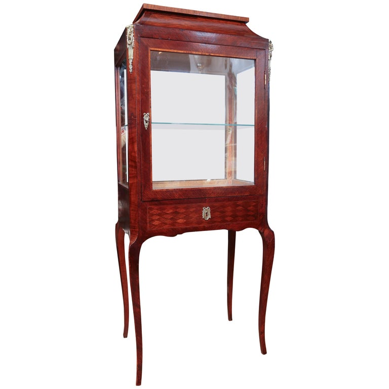 Louis XV Style French Vitrine