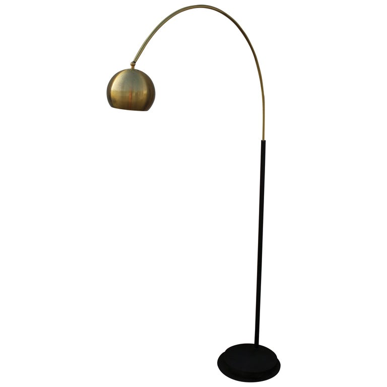 Italian Arc Floor Lamp For Sale