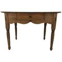 19th Century Farm and Country Single Drawer Desk