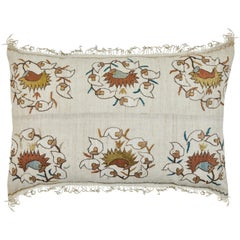 Antique Turkish Ottoman Embroidery Pillow