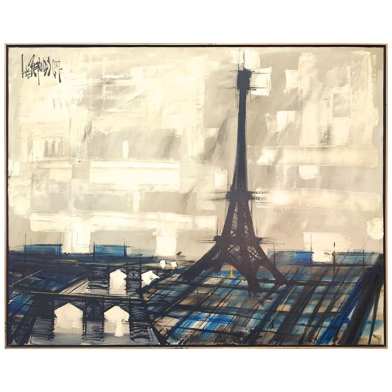 Eiffel Tower Painting by Lee Reynolds For Sale