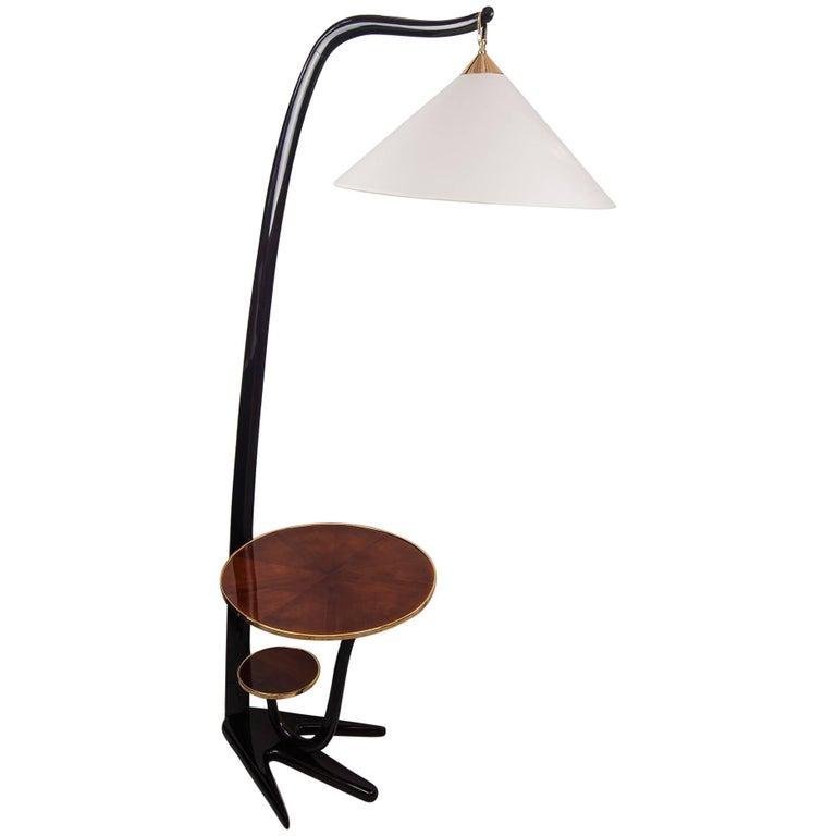 French Floor Lamp, circa 1950s
