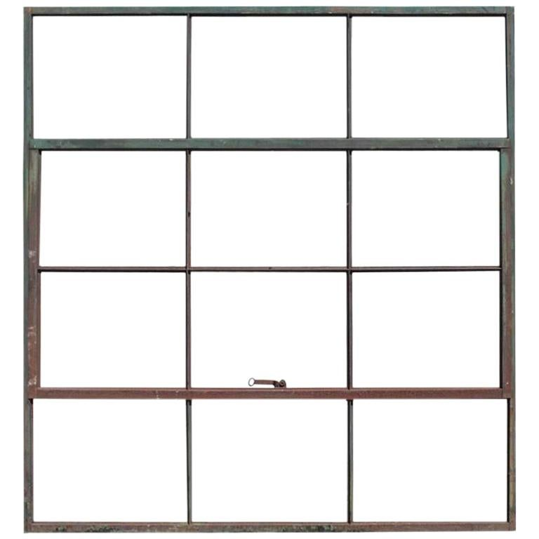 Antique Factory Casement Metal Window