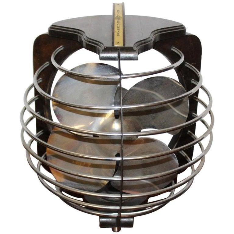 Royal Rochester Art Deco Electric Vintage Table Fan, 1930s