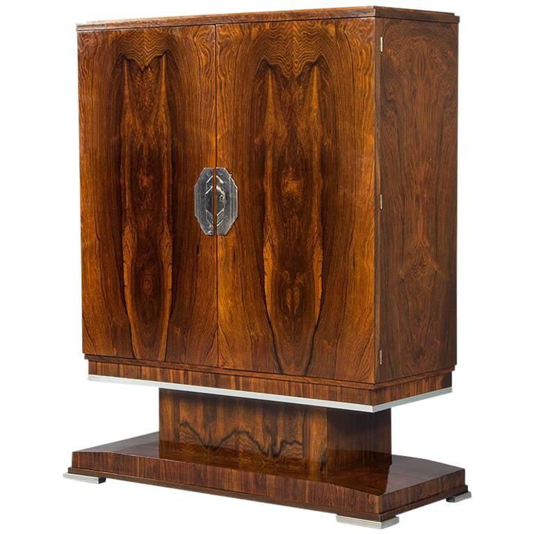 French Art Deco Bar Cabinet