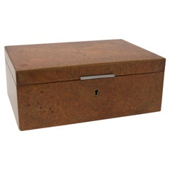 Alfred Dunhill Humidor in Burl Wood