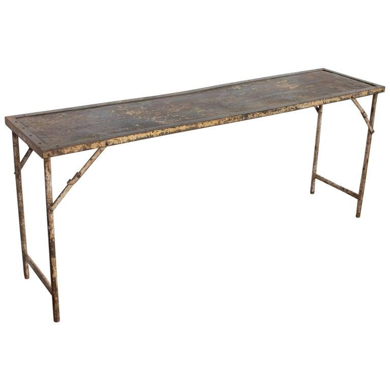 Metal Folding Potting/Garden Table