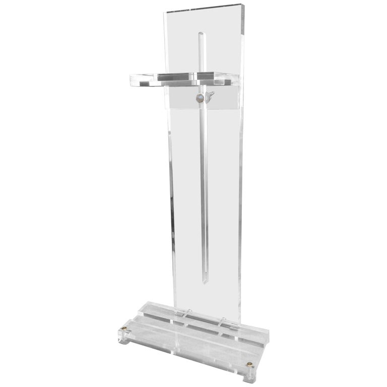 Lucite Art/ Photography Display Easel, Tabletop For Sale