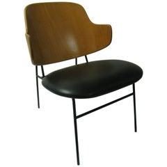 Ib Kofod Larsen Mid-Century Modern Vintage Penguin Chair
