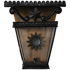 French Wall Lantern / Sconce, Origin France, circa 1860