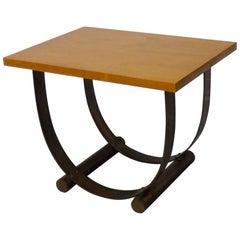 Donald Deskey Style Art Deco Machine Age Side Table