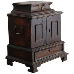Rare Tiny 17th Century Baroque Cabinet, Origin, South Germany, circa 1680