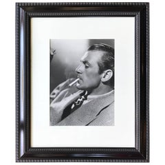 Hollywood Glamour Portrait Photograph of Gary Cooper by Clarence Sinclair Bull