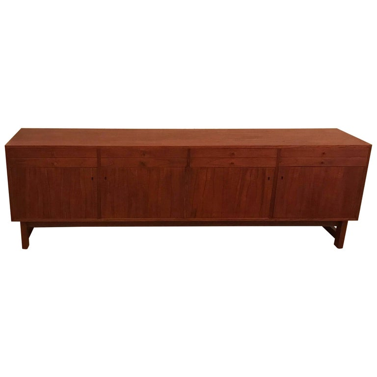 Scandinavian Modern Teak Credenza Made in Sweden