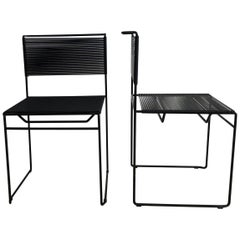 Pair of Spaghetti Chairs by Giandomenico Belotti for Flyline from Italy