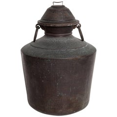 Giant Bronze Lidded Vessel
