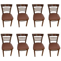 Thonet Cafe Bistro Restaurant Chairs, Set of Eight (NOTE: 22 chairs available)